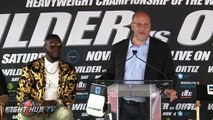 DEONTAY WILDER VS. LUIS ORTIZ FULL PRESS CONFERENCE HIGHLIGHTS-nv9BWChQbsM