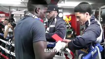 Lil Wayne Young Money Sports Sign Their 1st Boxer Erickson Lubin  EsNews Boxing-tdYT11jM_Z8