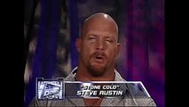 Stone Cold Steve Austin addresses the WWE Universe after the Sept. 11, 2001 attacks SmackDown