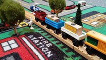 Thomas Wooden Railway level crossing crash http