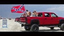 Crazy Trucks Drifting on the Beach - Truck Fever Meet Daytona 2016