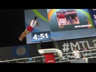 Yul Moldauer - Vault - 2017 World Championships Podium Training