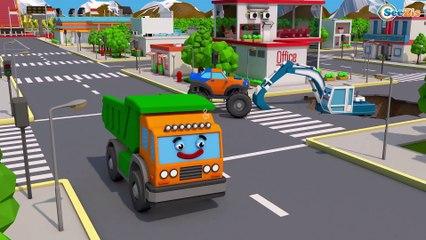 Pequeno Trator e o Pesquisar AMIGOS - Desenhos Animados Carros Bebês - Vídeo Para Crianças