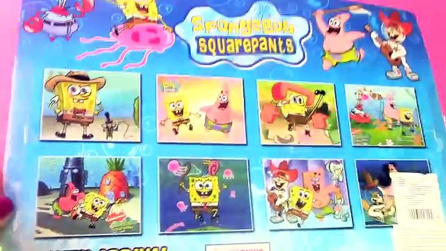 Spongebob Squarepants Toys Unboxing with Spongebob Krusty Krab Plancton Patrick Star and Sandy Cheek