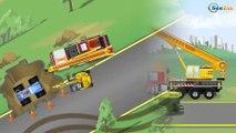 Excavadoras para bebés y niños - Camiones grandes para niños - Nuevo videos infantiles
