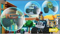 Blaze and the Monster Machines Race to the Rescue Car Games For Kids - Gry Dla Dzieci