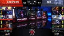 G2 vs TSM 2017 Rift Rivals Day 1 | NA vs. EU LOL Esports | G2 Esports vs Team Solo Mid