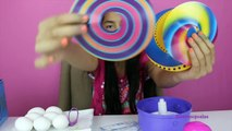 Coloring Easter Eggs Spin an Egg Colorful Marbled Easter Eggs|B2cutecupcakes