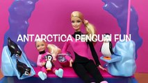 Barbie Sea World Trainer with Chelsea Toy of Barbies Sea World in Antarctica with Penguin Set