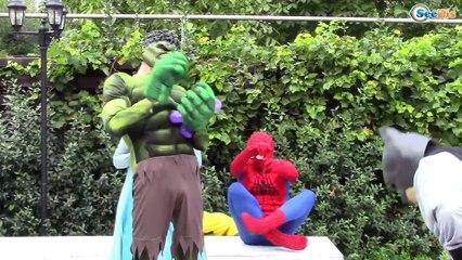 Spiderman and Elsa Surprise toys!! Superhero Compilation! Disney Princesses
