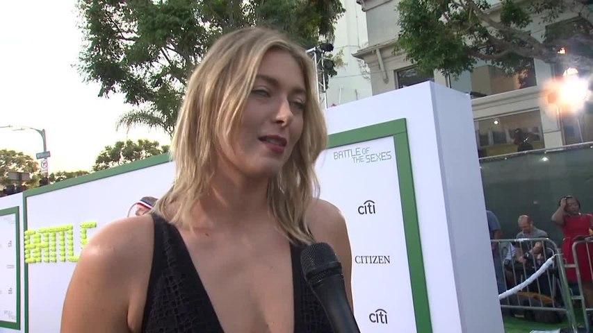 Maria Sharapova At 'Battle of the Sexes' Premiere