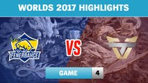 Highlights: FB vs ONE Game 4 - Round 2 Play-In Stage Worlds 2017