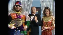 RANDY MACHO MAN SAVAGE VS GEORGE THE ANIMAL STEELE (1987) - WWF WWE Wrestling - Sports MMA Mixed Martial Arts Entertainment