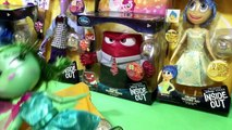 Disney Store Exclusive Pixar Inside Out Movie Deluxe Talking Figures Joy Anger Disgust Fear Sadness!