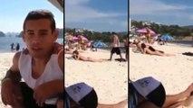 Technique de drague à la plage