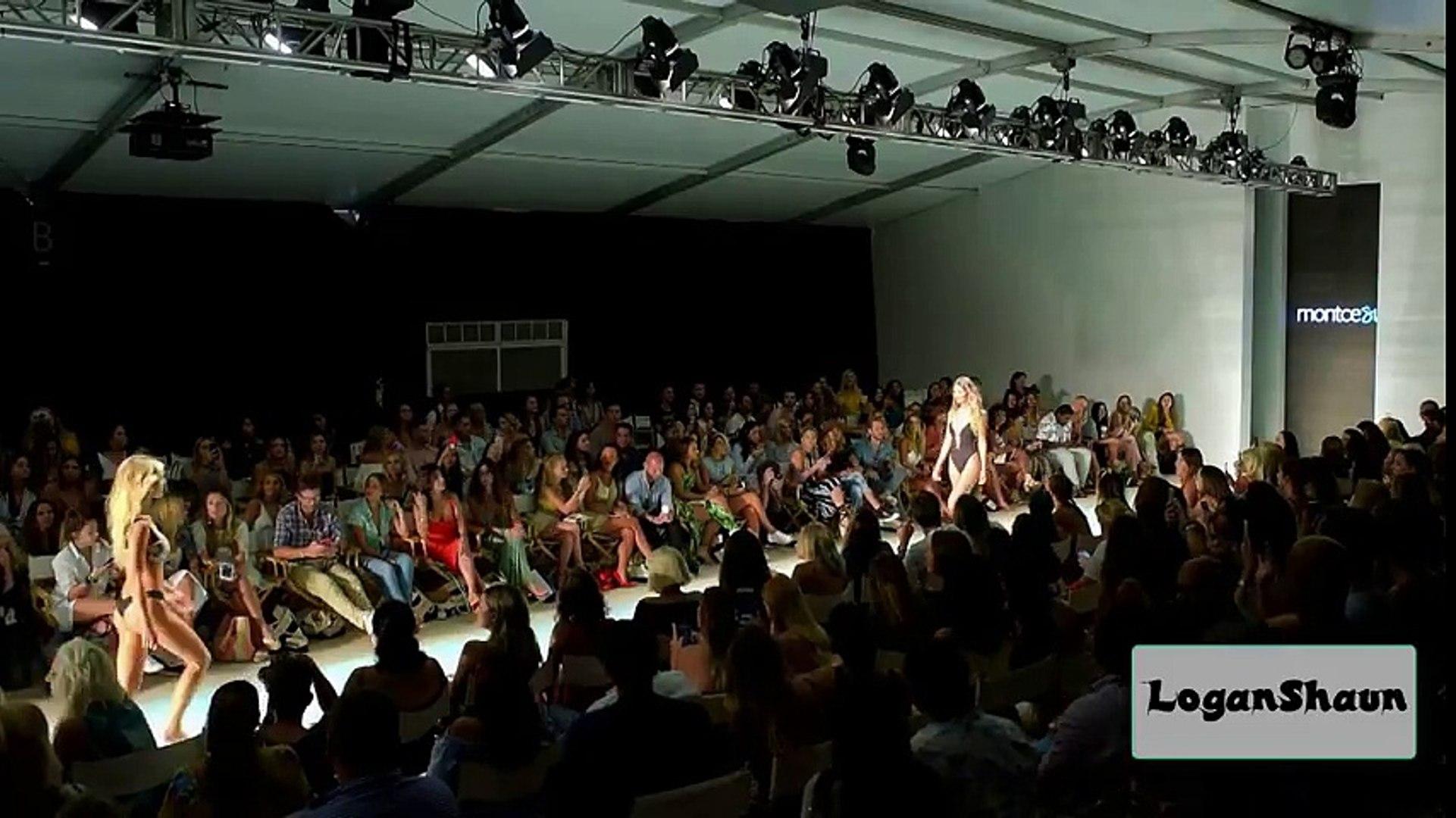 Montce Swimwear Fashion Show Mmiami Fashion Week