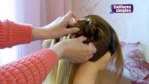 Tuto coiffure simple cheveux mi long/long ✨ Chignon tressé facile ✨ Coiffure tresse en noeuds