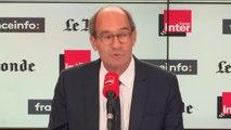 """Eric Woerth accuse Emmanuel Macron d'avoir """"offert Alstom à la chancelière allemande"""" #QuestionsPol"""