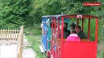 Bon Repos sur Blavet (22). Le chemin de fer de Bon Repos en fête