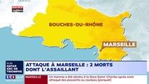 Marseille : Une attaque au couteau fait deux morts à la gare Saint-Charles (Vidéo)