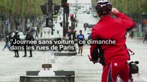 Un dimanche entièrement sans voitures à Paris