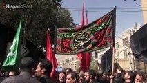 Irán se viste de luto para celebrar la festividad de Ashura