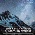 Mt. Everest is not the hardest mountain. K2 is the hardest mountain to climb. K2 is second highest mountain in the world.