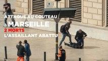 Marseille : une attaque au couteau fait deux morts, l'assaillant abattu