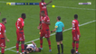Marcelo gets red card after accidentally tipping off the yellow card from the referee's hands!