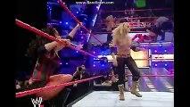 WWE RAW 2006 Trish Stratus &Ashley vsCandice Michelle &Victoria