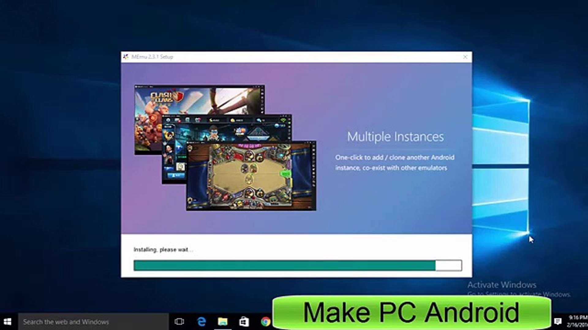 download android emulator for low memory pc