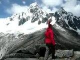 Le Fil Rouge de la Cordillière Blanche (Pérou, 4750m)