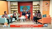 ON THE SPOT: Ilang PTV personalities, lumahok sa Spartan Run 2017