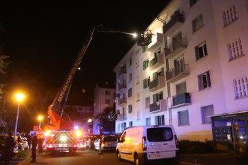 Dramatique incendie à Mulhouse