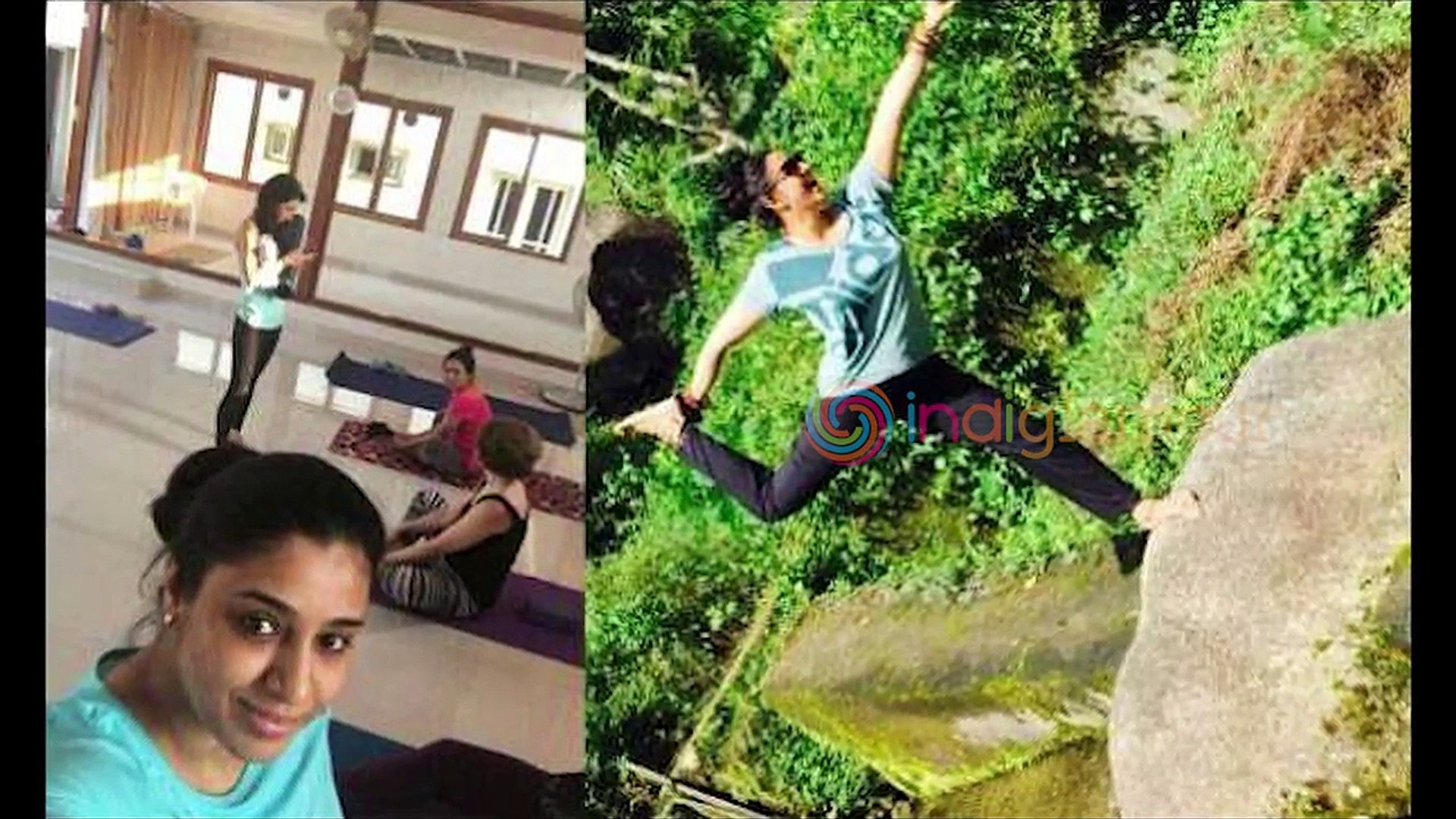 Actress Samyuktha Varma's stunning transformation - Yoga Photos - Biju  Menon Wife
