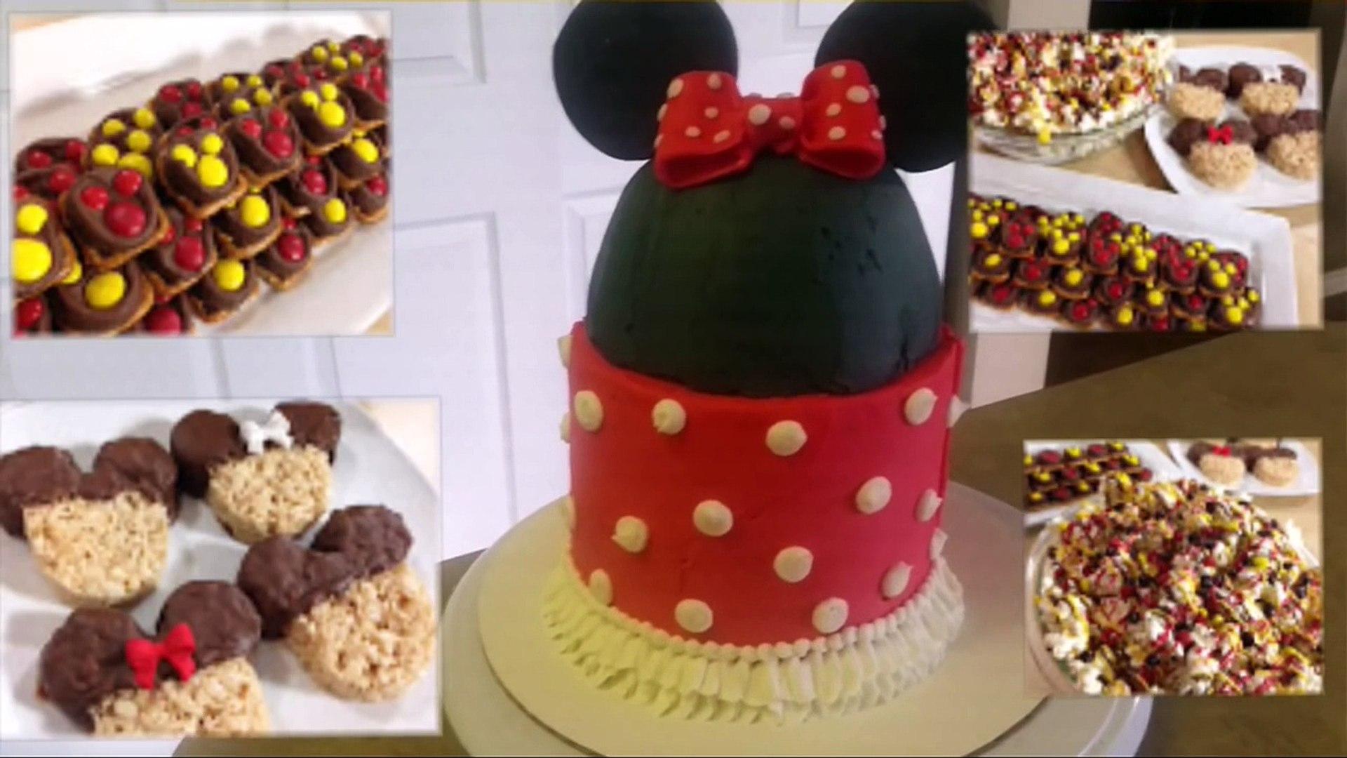 MICKEY / MINNIE MOUSE CAKE. Cake Decorating
