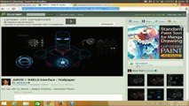 Windows8] How to install Rainmeter and The Jarvis Interface for your