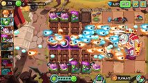Plants Vs Zombies 2 - Cob Cannon vs Jurassic World Incoming Update! (PvZ 2 Chinese Version)