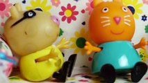Fun Toys! Funny pig toy and Masha and the bear is afraid of vaccinations. Fun video for kids.