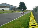 2 karting intrepid en tête de la course de dunois kart