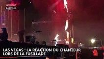 Fusillade à Las Vegas : La réaction du chanteur en entendant les coups de feu, la vidéo choc