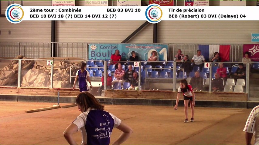 Second tour, second tir de précision, Club Elite Féminin J1, Bourg en Bresse contre Bièvre Isère, octobre 2017