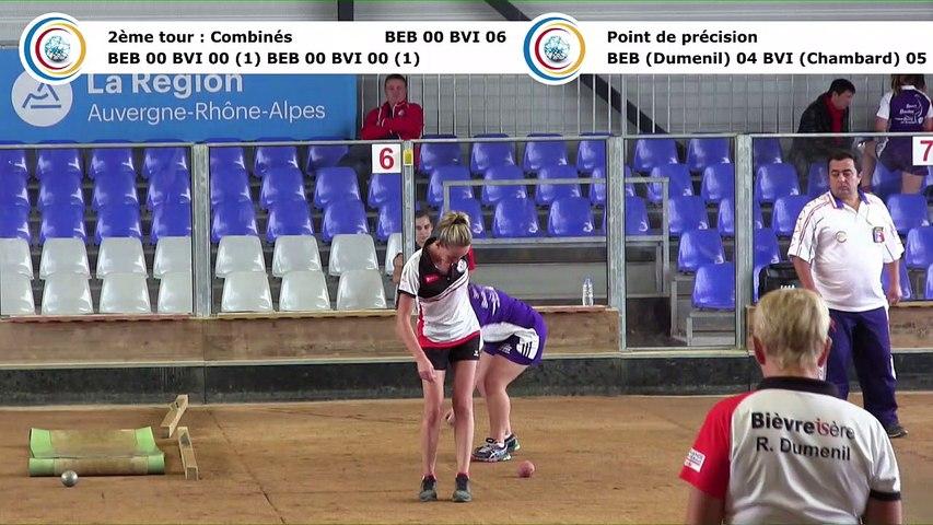 Second tour, point de précision, Club Elite Féminin J1, Bourg en Bresse contre Bièvre Isère, octobre 2017