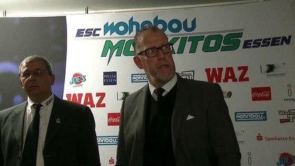 Spielabbruch, Schiedsrichter und fehlende Schweigeminute: Essens Trainer Frank Gentges kritisiert den DEB