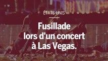 Las Vegas : les images prises par les amateurs lors de la fusillade.