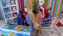 Мультик с куклами Барби и Эвер Афтер Хай Добрый поступок Barbie Мультики для девочек Куклы Шоу 39