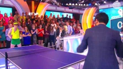 Sur Direct 8 Cyril Hanouna Te Defie Au Ping Pong Dans L Emission