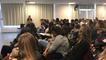 Le journaliste Laurent Larcher rencontre les lycéens du pays d'Auge