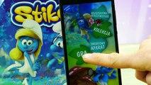 Gry na telefon - Smerfy Stikeez Lidl - Challenge - Aplikacja na telefon - Gry dla dzieci