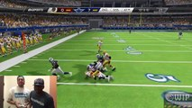 Madden 25 Gameplay - FaceCam QJB vs AntoDaBoss - Epic Head to Head Cowboys vs Redskins Game